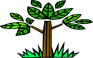 Nursery School logo (a tree)